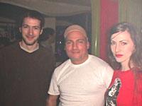 Johan (buenosaliens) junto a Danny Tenaglia (y Romina Cohn!)