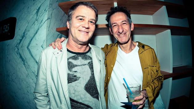 Carlos Alfonsin y Dany Nijensohn