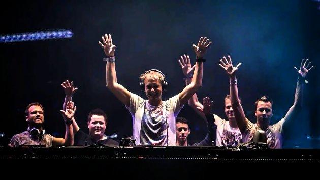Armin Van Buuren y los talentos locales