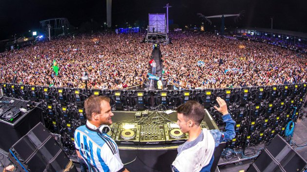 Tomas Heredia y Dash Berlin