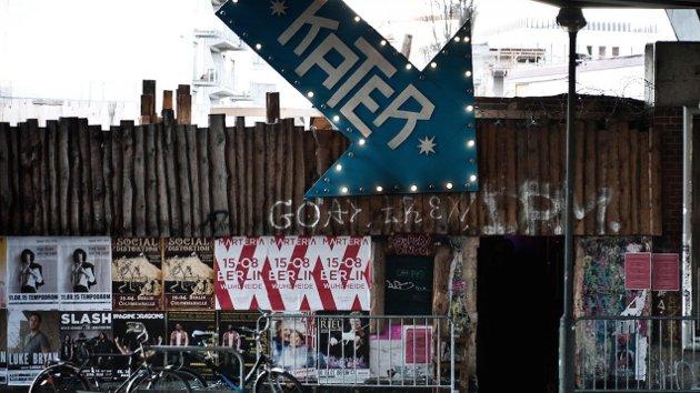 Berlin Clubs - Kater Blau