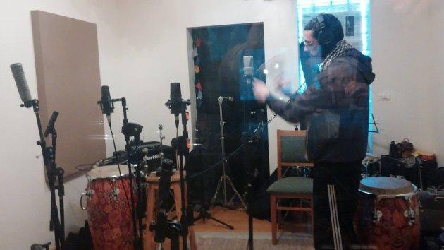 Camanchaca durante la grabación de Aurora