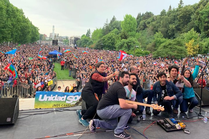 Show en Concepción, Chile
