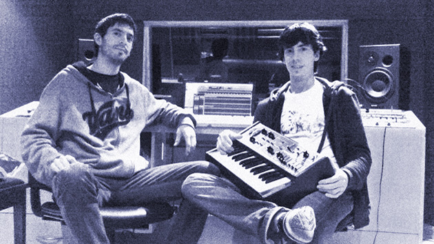 Javier y Gabriel Ferreira en los comienzos de Ninefont