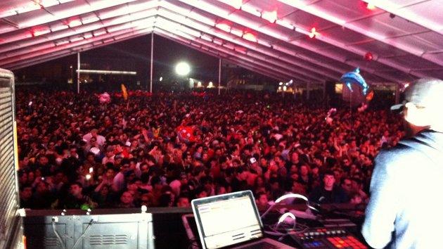 Guti en Creamfields Buenos Aires 2012