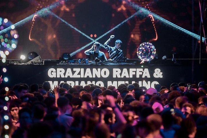 Mariano Mellino juntoa Graziano Raffa en Forja, Octubre 2019