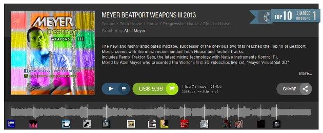 Abel Meyer en Beatport
