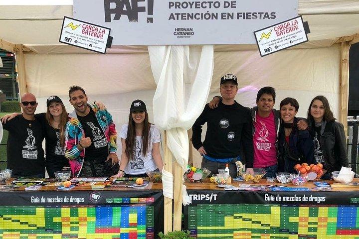 PAF en el evento de Hernán Cattáneo