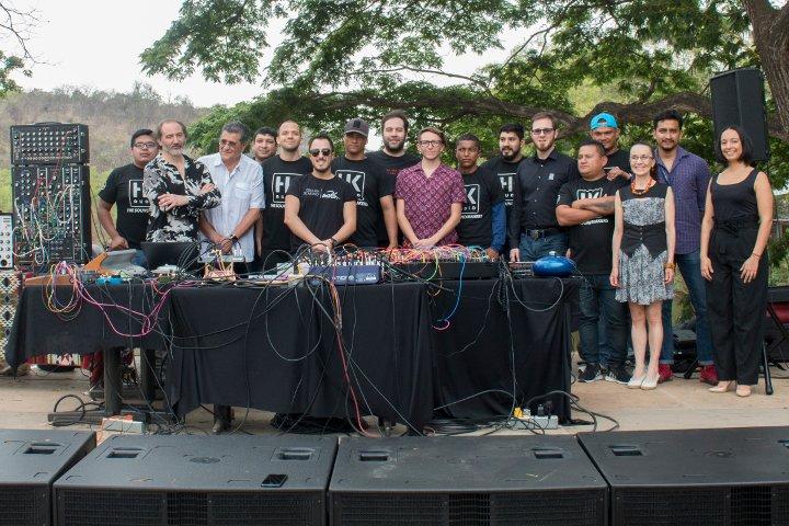 Ernesto Romeo en Festival Sonido y Movimiento, Guayaquil, 2019