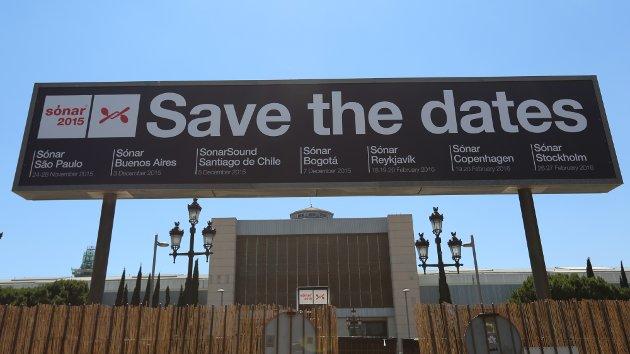 Sonar BCN 2015 - Save the dates