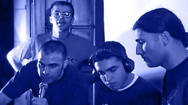 Urban Groove, durante la transmisión.